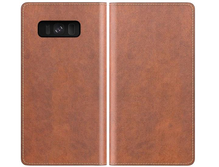 buy online d7bc7 e6970 Nomad Leather Folio Wallet Case for Samsung Galaxy Note 8