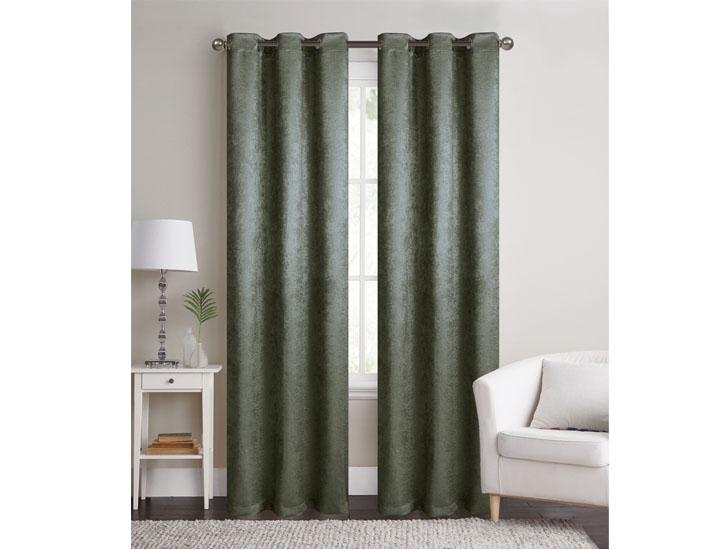 "Boston 84"" Blackout Curtains (2 Panels)"
