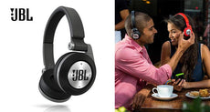 JBL Synchros Bluetooth On-Ear Headphones with Purebass