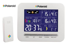 Polaroid Digital Weather Station with Forecast & Indoor/Outdoor Temperature/Humidity