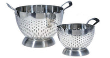 2-Piece Stainless Steel Colander Set with Handles  - UntilGone.com