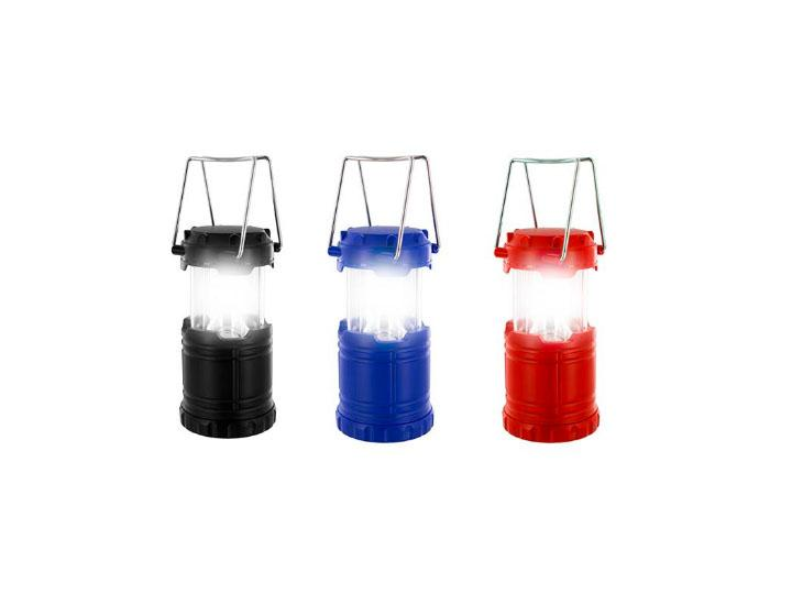 Collapsible Mini Lantern with Ultra-Bright LED Light (3-Pack)