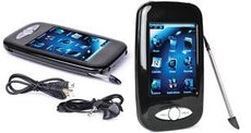 "Eclipse 4GB Digital Music/Video MP3 Player and Voice Recorder with 2.8"" Screen & Stylus"