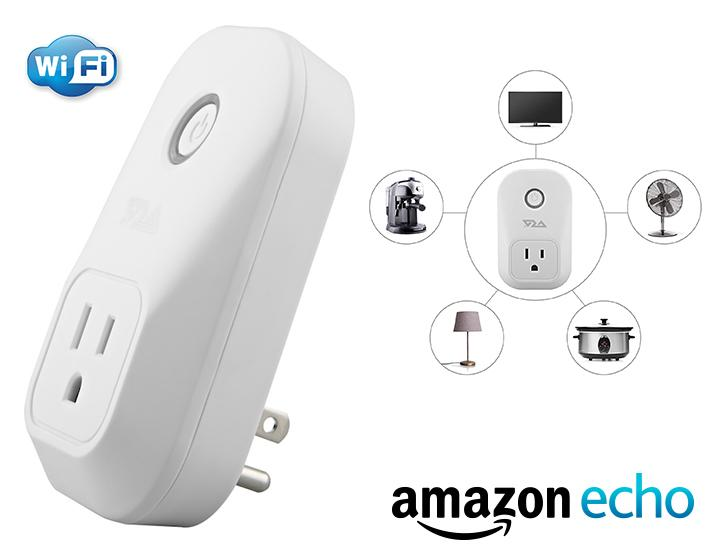 [1, 2, or 4 Pack] Ora Smart Plug Wi-Fi Outlet to Control Your Devices from Anywhere - Works with Amazon Echo & Smartphone Apps  - UntilGone.com