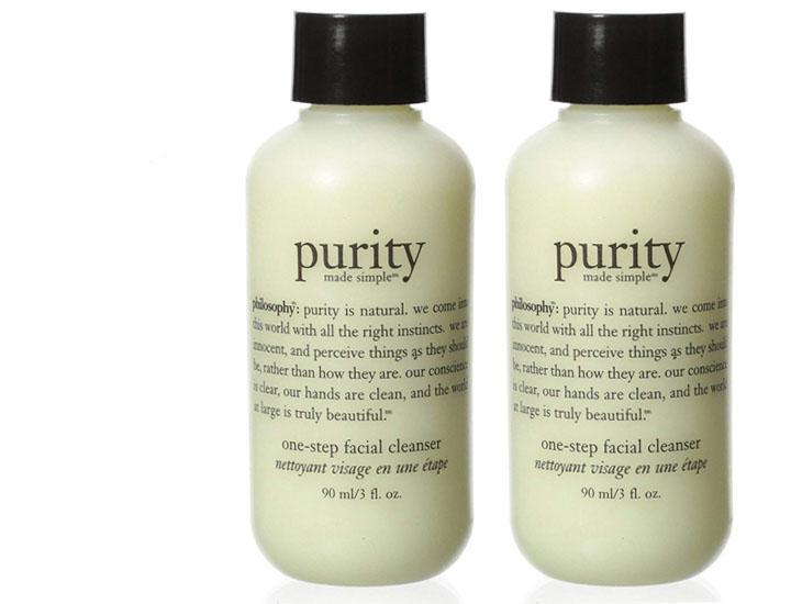 [2-Pack] Philosophy Purity Made Simple One-Step Facial Cleanser  - UntilGone.com