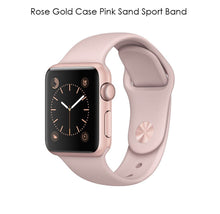 Apple Watch Gen 2 Series 1 Smartwatch – Choose 38mm or 42mm Styles 42mm Rose Gold Case Pink Sand Sport Band - UntilGone.com