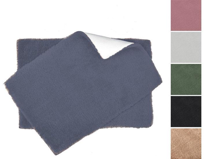 Ultra Plush Bath Rug Set with Non-Skid Backing - 6 Colors Bath Mats & Rugs