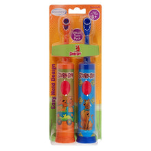 [2-Pack] Scooby Doo Battery Power Kids Toothbrush (Blue & Orange)  - UntilGone.com