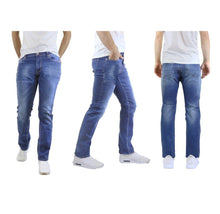 Men's Straight Leg Jeans with Stretch Fit Pants Sea Medium Wash - 30X30