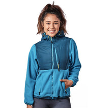 Alta Women's Two-Tone Full-Zip Fleece Jacket – Multiple Colors Coats & Jackets Teal/Peacock - XXL