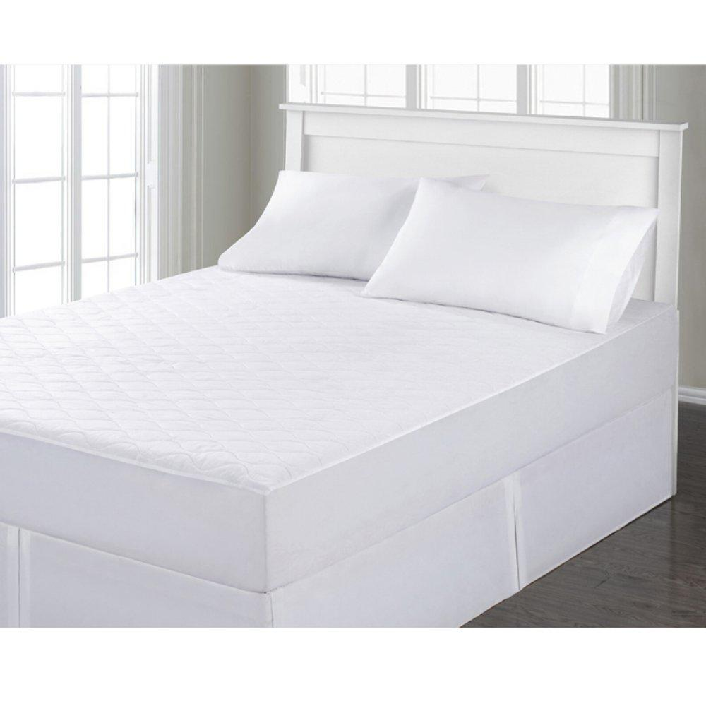 Velvet Touch Quilted Mattress Pad with Hypoallergenic Fiber Fill  - UntilGone.com