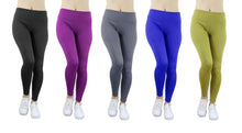 Women's Stretchy Ponte Leggings - 8 Choices Pants