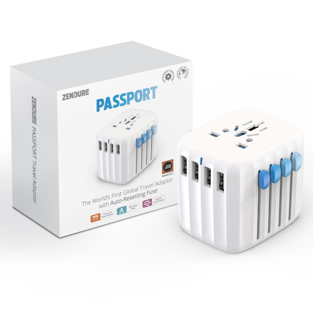 Global Travel Power Adapter With 150 Country Compatibility Fuse Box