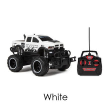Dodge Ram 2500 1:24 scale Electric RC Monster Truck - 3 Colors Remote Control Toys White