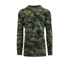 Men's Waffle-Knit Cotton Blend Thermal Shirt Woodland - Small - UntilGone.com