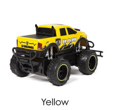 Dodge Ram 2500 1:24 scale Electric RC Monster Truck - 3 Colors Remote Control Toys Yellow