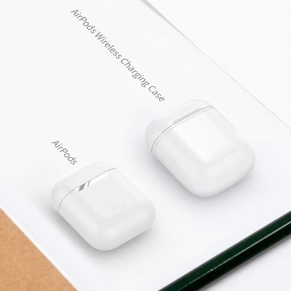 hot sale online 93089 5b0d9 Qi Wireless Charging Case Cover for Apple Airpods