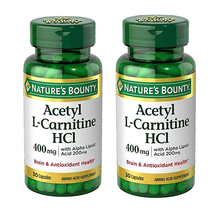 Daily Deals Nature's Bounty® L-Carnitine with ALA (2-Pack) Vitamins & Supplements Default Title