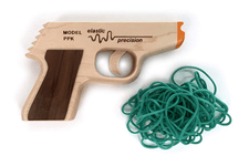 Elastic Precision Model PPK Rubber Band Gun with 50 Bands