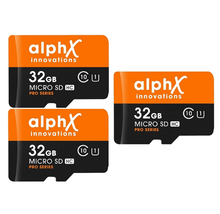 [3-Pack] AlphX 32GB Micro SD Cards + Bonus Adapter & USB Card Reader  - UntilGone.com