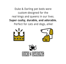 Duke and Darling Pink Quilted Plush Pet Bed Dog Beds