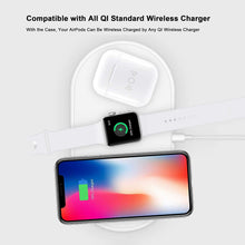 Qi Wireless Charging Case Cover for Apple Airpods