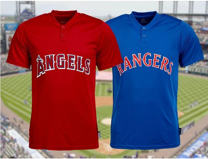 Majestic Men's MLB Baseball Team T-Shirts and Henleys Shirts & Tops