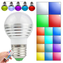 LED Light Bulb with Remote Control (2-Pack) LED Light Bulbs