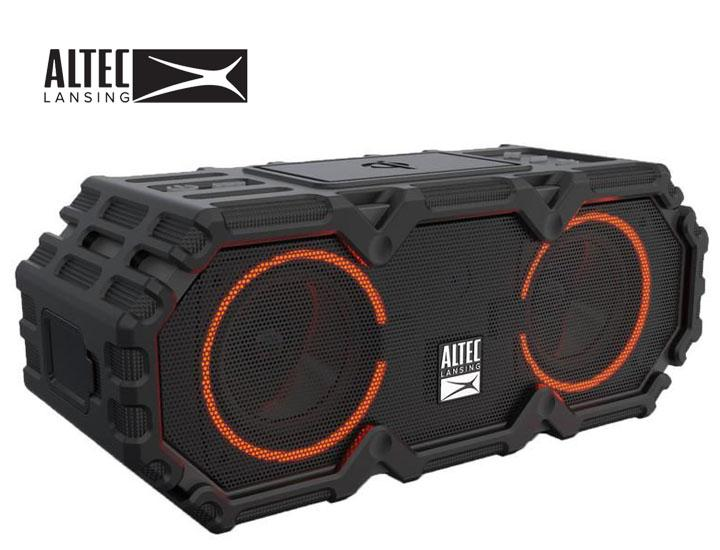 Daily Deals Altec Lansing Lifejacket Jolt Waterproof Bluetooth Speaker with Qi Charging Speakers