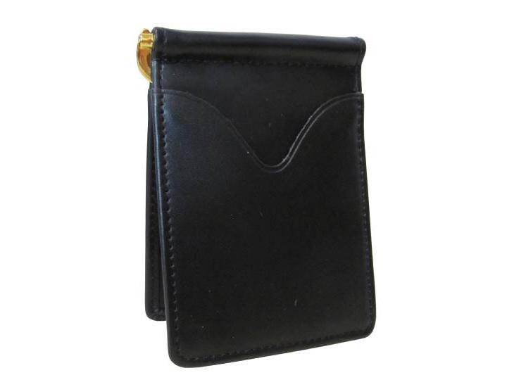 Daily Deals Amerileather Black Leather Money Clip Wallets & Money Clips