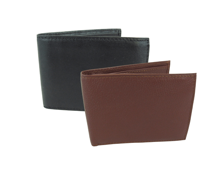 Daily Deals Amerileather Leather Bi-Fold Wallet Wallets & Money Clips