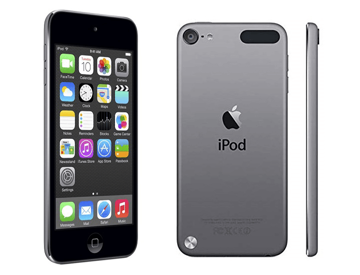 Daily Deals Apple iPod Touch Retina Display 16GB Space Gray (5th Generation) Audio Players & Recorders