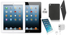 Apple iPad 4 Retina Bundle with Case, Charger, & Screen Protector