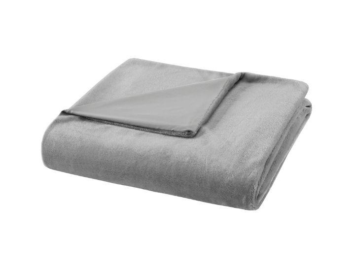 Daily Deals Bibb Weighted Blanket with Reversible Cover Blankets
