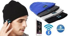 [2-Pack] Wireless Bluetooth Beanie Hat with Built-In Headphones