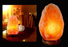 Himalayan Sea Salt Natural Air Purifier Lamp & Rock Crystal– 3 Sizes Lamps