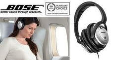 Bose QuietComfort 15 Acoustic Noise-Cancelling Headphones with TriPort Technology - The #1 Travelers Choice Headphones