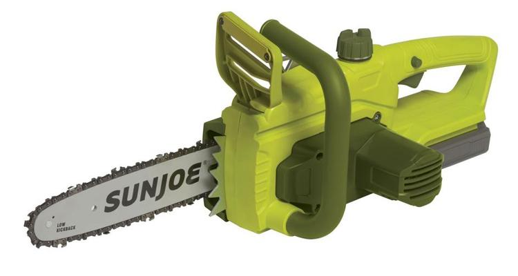 Sun Joe iON 10-Inch Brushless Cordless Chainsaw with 20-Volt Battery  - UntilGone.com