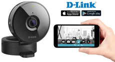 D-Link HD Wi-Fi Camera, Night-Vision, Motion & Sound Detection, Remote Viewing, Android/iOS App