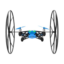 Parrot MiniDrones Rolling Spider Quadcopter with HD Camera Robotic Toys Blue