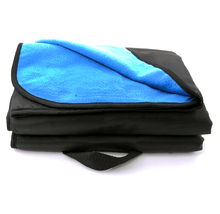 Daily Deals Outdoor Stadium Throw Blanket Blankets Smoke Blue