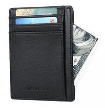 Cedarbrook Genuine Leather Slim Card Wallet – Ultra-Thin Holder Handbags, Wallets & Cases