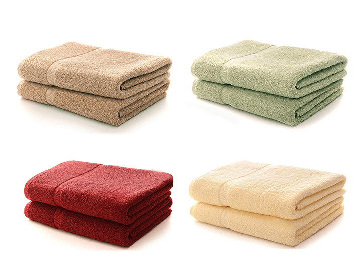 Daily Deals Cheer Collection 650 GSM Bath Towel (Set of 2) Bath Towels & Washcloths