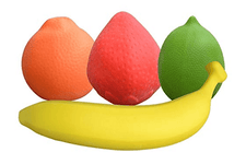 Fidget Fruit Squish Toys - Anxiety & Stress Relief For Children or Adult