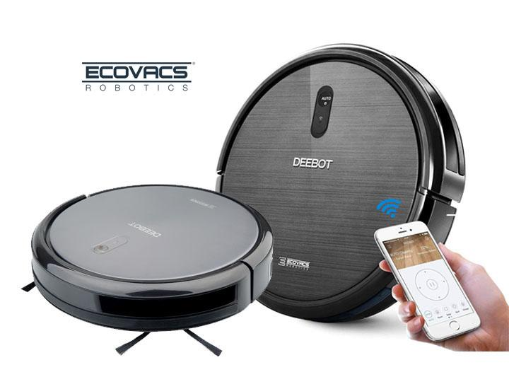 Ecovacs Deebot N79 >> Ecovacs Deebot N79 Robotic Vacuum Cleaner With Wi Fi Connected App