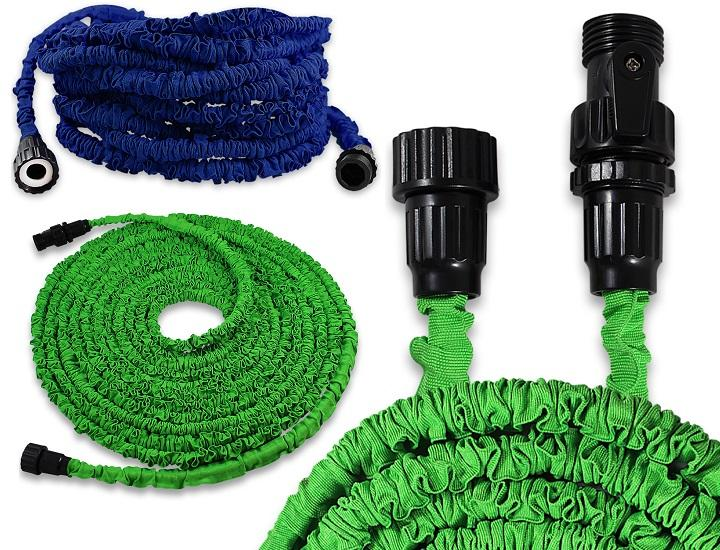 Daily Deals Deluxe Expandable and Flexible Garden Hose Garden Hoses