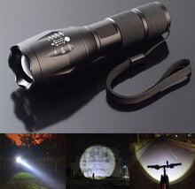 1000-Lumen Zoomable Flashlight with 5-Mode LED Bulb