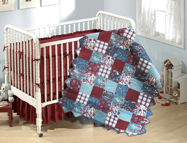 Daily Deals Donna Sharp Quilted Cotton Baby Blanket Blankets Abilene Patch