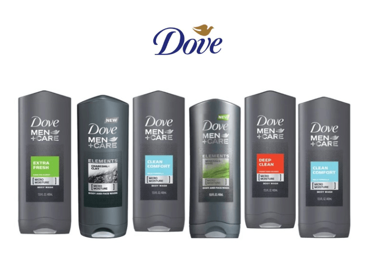 Daily Deals Dove Men's Shower Gel (6-Pack) Body Wash