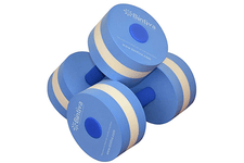 Bintiva Aqua Fitness Dumbbells for Water Aerobics & Pool Exercises